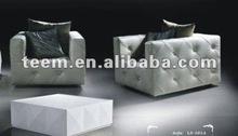 euro luxury sofa NO.1 printed suede pu sofa fabric