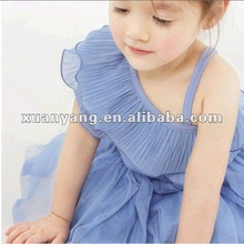 2014 cute summer clothes fancy cheap lace fabric baby frock designs
