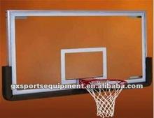 Acrylic glass basketball backboard