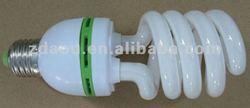 11W half spiral Compact fluorescent light
