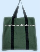 2012 new mango canvas shopping bags with wheels