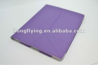 smooth style for leather case for new ipad for brazil market + PU Leather Cases for i-Pad Leather Cases for tablet pc