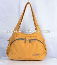 2012 Fashion soft nylon ladies shoulder bag