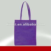 purple promotional ecological non woven shopping bag