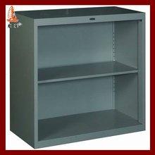 Small 2 layer pantry kitchen steel storage cupboard