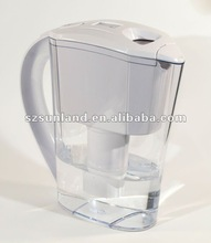 Plastic water filter pitcher