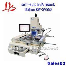 Semi-auto infrared bga repair machine RW SV550 for xbox 360 motherboard, PCB, PS2/3,etc