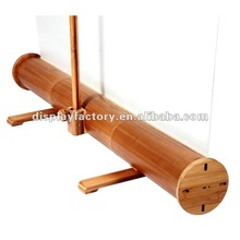 Crazy price!!! natural tube bamboo roll up/roll up stand ECO-friendly and low carbon