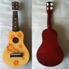 21 inch wood toy guitar,musical instrument