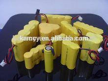 ni-cd battery 3.6v 60mah rechargeable