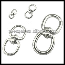 zinc plated double swivel eye