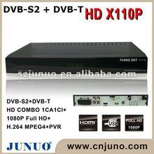 dvbs2+dvbt receiver