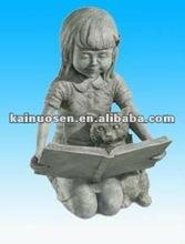 Decorative resin girl