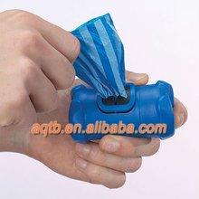 bone shape biodegradable pet waste bag with dispenser