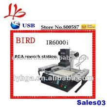 Lead-free BIRD IR6000 bga rework station motherboard repair tool