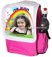 children sublimation DIY logo backpack
