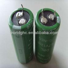 quick charge super capacitor 100 farad 2.7 volts