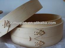 High quality chinese restaurant utensil of bamboo steamer basket