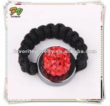 2012 Latest Fashion Shamballa Jewelry Rings Shamballa Wholesale