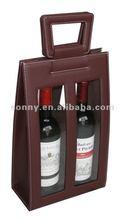 2 bottle gift fold wine bag