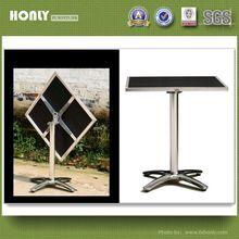 Fold down aluminium table or beach folding table