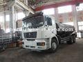 Venda quente!!! Shanqi caminhão tanque de água com monitor de fogo
