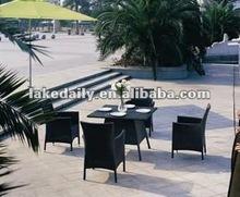 rattan patio dining set