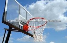 Tempered glass basketball backboards