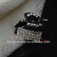 2012 Hot Selling Rhinestone Hair clips Hair Accessories Plastic Hair Claws