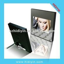 "8"" multi function digital photo album, digital photo frame, DPF with mirror cover"