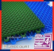 Gridcourt pp outdoor sports flooring/surface