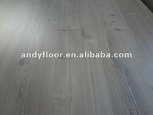 12.3mm laminate floor 4 sides mold pressed v beveled hdf parquet light grey color