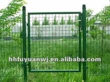(factory) garden metal post bracket fence