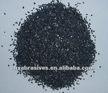 synthetic diamond grit black silicon carbide F16 of Petroleum Coke for ceramic bond wheel