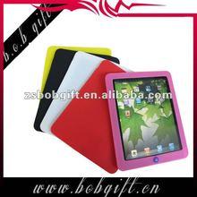 Coloured silicone case for IPAD