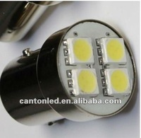 led stop and go light 1157 ba15d p21w/5w 4pcs smd