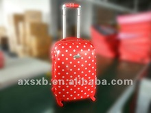 ABS+PC travel trolley red dots nice box case luggage