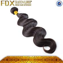 2012 the best seller virgin Brazilain short human hair weave