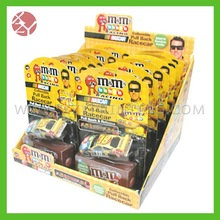 Full color printed high quality candy packing printing counter display