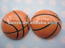 basketball -flat back resin cabochon for decoration
