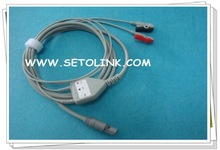 2012 NEW PROMOTION PRODUCT ECG CABLE CLIP END
