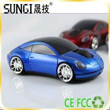 2012 hot 3d cheap car wireless mouse
