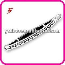 hot sale alloy canoe bracelet charms (186689)