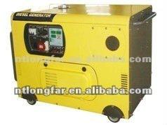 10KVA silent generator set