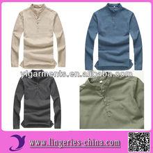 Comfortable plain white hemp tshirt