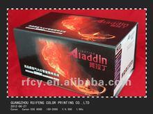 custom handmade cardboard box for HID and printing service