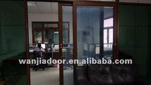 aluminium sliding door with shutter design