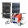 12W solar panel 9AH battery Solar DC generator power home use system