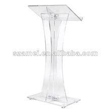 modern design acrylic lectern