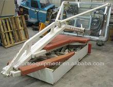 Manual hydraulic basketball hoop/stand